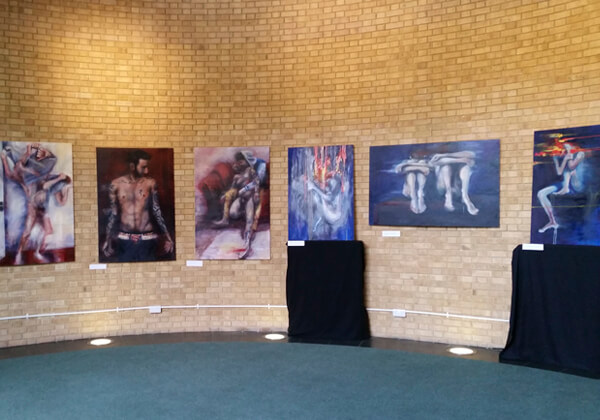 Ric Stott's paintings for the Conference