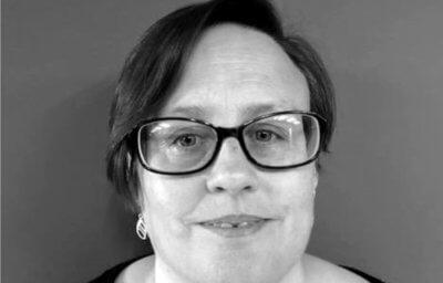 A woman's face - Sally Rush